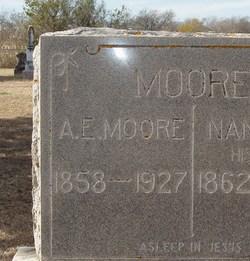 A. E. Moore