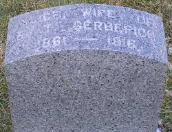 Sarah Alice <i>Singley</i> Gerberich