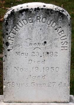 Gertrude Roudabush