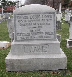 Esther Winder <i>Polk</i> Lowe