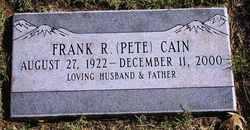 Frank R Cain