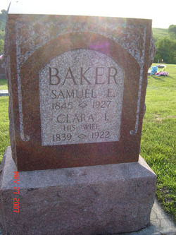 Clara Imogene <i>Bevans</i> Baker