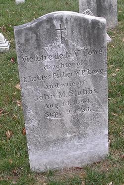 Victoire de la V. <i>Lowe</i> Stubbs