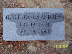 Louise <i>Jones</i> Andrews