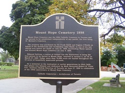 Mount Hope Catholic Cemetery