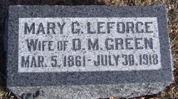 Mary Gelania <i>LeForce</i> Green