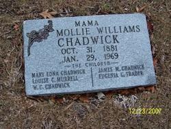 Mollie <i>Williams</i> Chadwick