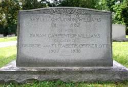 Capt Samuel Croudson Williams