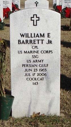 William Bill Earl Barrett, Jr
