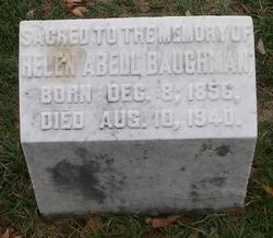 Helen M. <i>Abell</i> Baughman