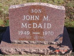 Sgt John Murl McDaid