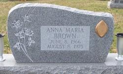 Anna Maria Brown