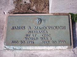 Lieut James Albert MacDonough