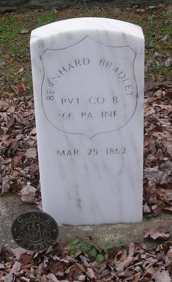 Pvt Bernhard Bradley