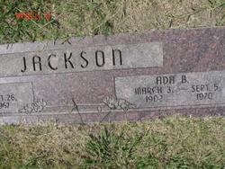Ada Belle <i>Tyner</i> Jackson