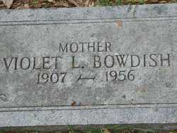 Violet Sarah <i>Reitz-Lippman</i> Bowdish