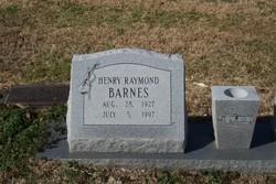 Henry Raymond Barnes