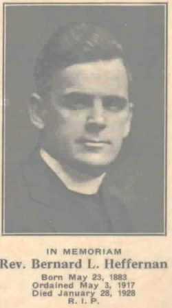 Rev Bernard Leo Heffernan