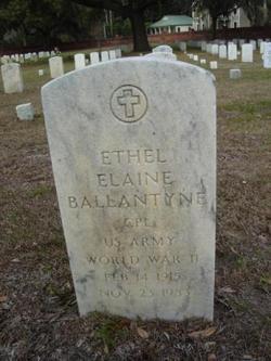 Ethel Elaine <i>Blitch</i> Ballantyne