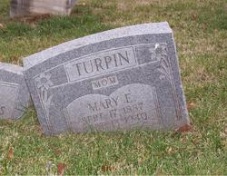 Mary E, <i>Wilhite</i> Turpin