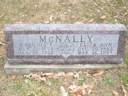 Marquis F McNally