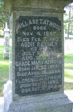 Addie <i>Raymer</i> Atwood
