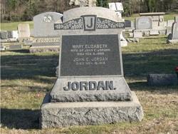 Mary Elizabeth Jordan