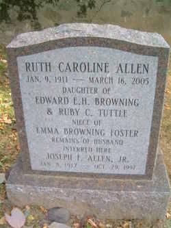 Ruth Caroline <i>Browning</i> Allen