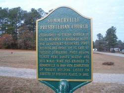 Summerville Presbyterian Church Cemetery