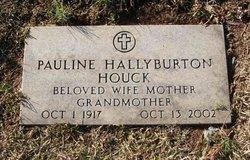 Pauline <i>Hallyburton</i> Houck