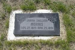 Sarah <i>Sheldon</i> Morris