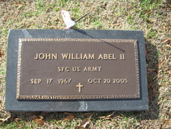 John William Johnny Abel, II