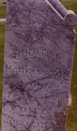Mrs Judith R. <i>Bennett</i> Harrington