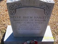 Nellie <i>Rhem</i> Hargett