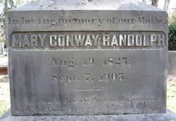 Mary Conway <i>Randolph</i> Randolph