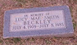 Lucy Mae <i>Smith</i> Beckley