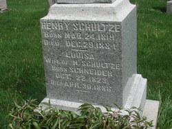 Henry (Heinrich) Schultze