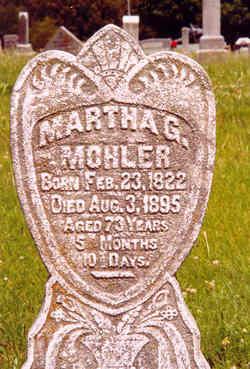 Martha G. <i>Burton</i> Mohler