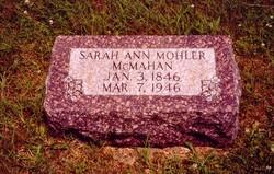 Sarah Ann <i>Mohler</i> Hood