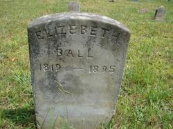 Sarah Elizebeth Elizebeth <i>Moore</i> Ball