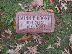 Minnie Boone