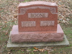 Martha Ann <i>Haney</i> Boone