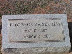 Florence <i>Kaiser</i> May
