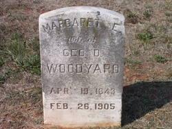 Margaret E Woodyard