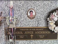 Carol Joyce Anderson