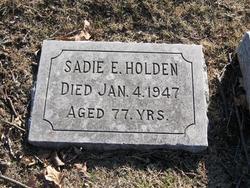 Sarah E. Sadie <i>Tanner</i> Holden