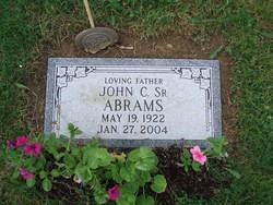 John Clayton Abrams, Sr
