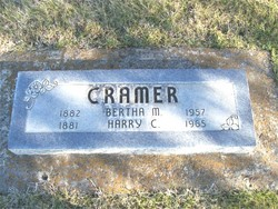 Bertha May <i>Stanton</i> Cramer