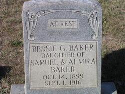 Bessie G Baker