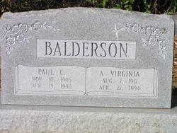 Ada Virginia <i>Carrico</i> Balderson